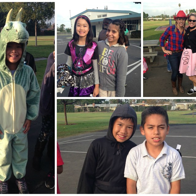 Our Halloween student collage reveals the true meaning of friendship.