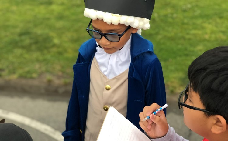 Evans Elementary Wax Museum - article thumnail image